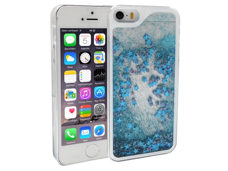 Hoesje iphone 5 blauw