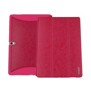 """Samsung Galaxy Tab S 10.5"""" Luxe Leder Hoes Rood"""