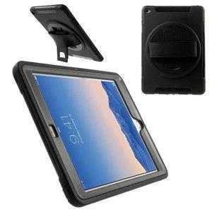 iPad Air 2 Hoes 360 Graden Met Draagband Zwart