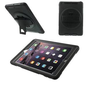 iPad Mini Draaibare Hoes 360 Graden Met Draagband Zwart
