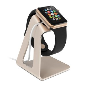 Apple Watch Docking Station Standaard Goud