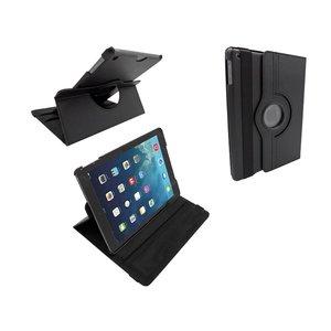 iPad Air Leder Hoes Draaibaar 360 Graden Zwart