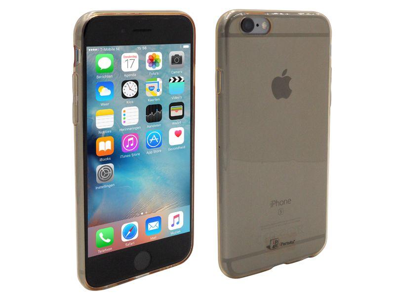 Iphone 6s hoesje ultra dun siliconen goud transparantben jij de gelukkige bezitter van de nieuwe iphone 6s? ...