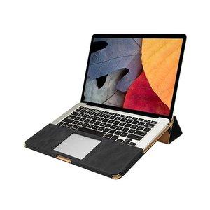 MacBook Pro Hoes Leder Zwart 13 inch