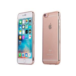 iPhone 6 en 6S Bumper Case Siliconen Ultra Dun Rose Goud