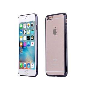 iPhone 6 Plus / 6S Plus Bumper Hardcase Dun Zwart
