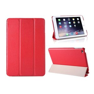 iPad Mini 4 Smart Case Hoes Leder Rood