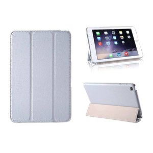 iPad Mini 4 Smart Case Hoes Leder Grijs