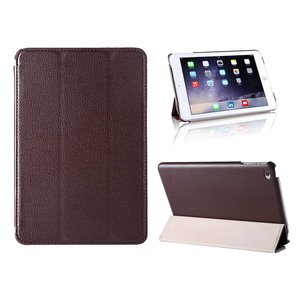 iPad Mini 4 Smart Case Hoes Leder Bruin