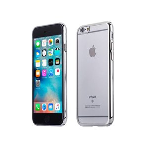 iPhone 6 en 6S Bumper Case Hardcase Ultra Dun Zilver