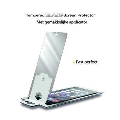iPhone 5 en 5S Premium Perfect Fit Screenprotector Glas
