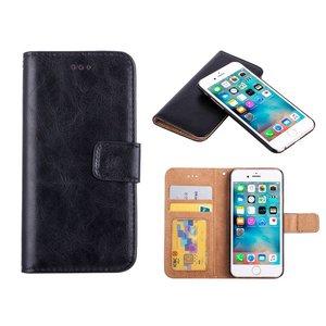 iPhone 6/6S Bookcase Hoesje Uitneembaar Zwart