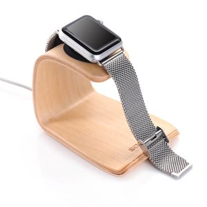 Apple Watch Docking Station Standaard Licht Bamboe