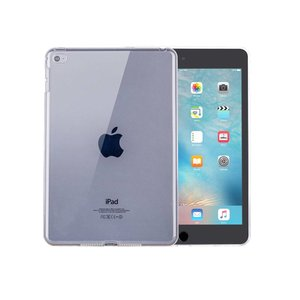 iPad Mini 4 Hoes Siliconen Gel Transparant