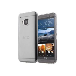 HTC One M9 Siliconen Hoesje Ultra Dun Transparant