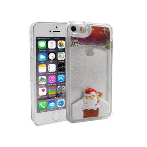 iPhone 5 en 5S Bewegend Hoesje Kerstmis Kerstman