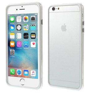 iPhone 6 en 6S Bumper Transparant Wit