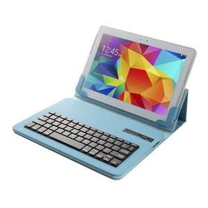Universeel Toetsenbord Hoes Bluetooth Blauw