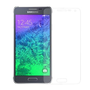 Galaxy Alpha Premium Perfect Fit Screenprotector Glas