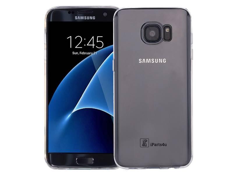 Dagaanbieding: Samsung Galaxy S7 Hoesje Siliconen Gel Transparant