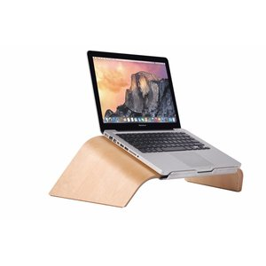 MacBook Standaard Bridge Licht Hout