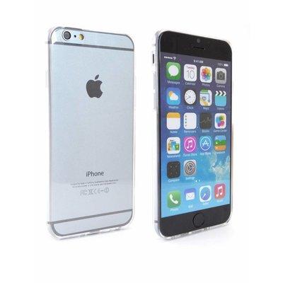Ultradun Siliconen Gel Hoesje iPhone 6 Transparant