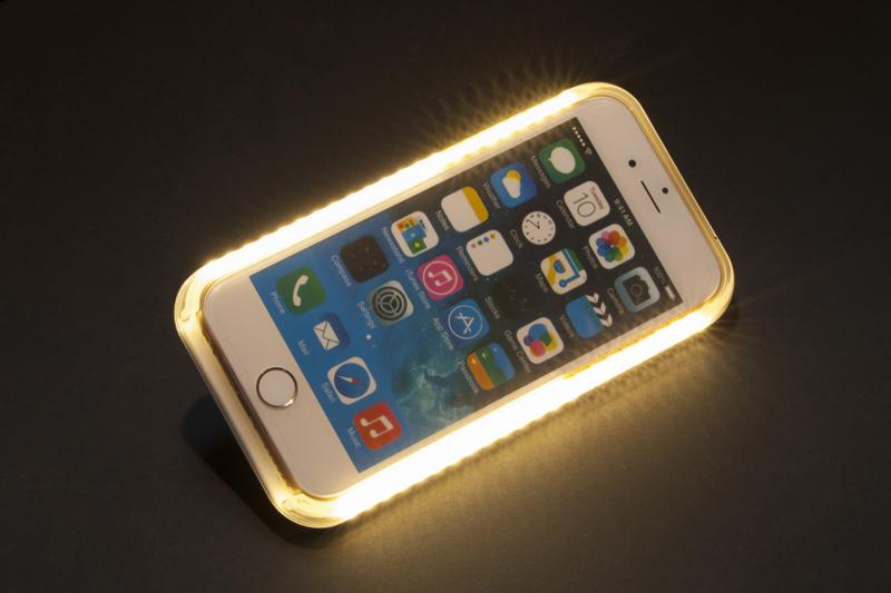 Selfie licht hoesje iphone 7