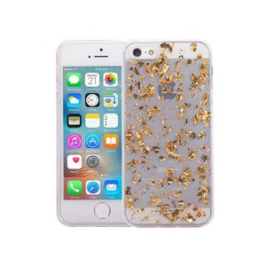 iPhone SE/5S/5 Glitter Hoesje Snippers Goud
