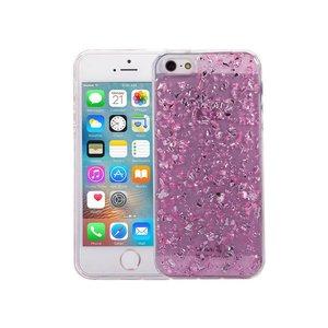 iPhone SE/5S/5 Glitter Hoesje Snippers Roze