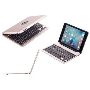 Aluminium Toetsenbord Hoes iPad Air 2 en iPad Pro Goud 9.7 inch Executive