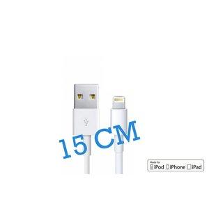 iPhone 5S/SE/6/6S & iPad Lightning Kabel MFI 15CM