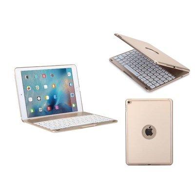 Toetsenbord iPad Air 2 /iPad Pro Hoes Note Kee Goud