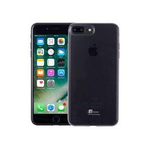 Ultradun iPhone 8/7 Plus Hoesje Siliconen Zwart Trsp