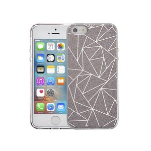 iPhone SE/5S Hardcase Glitter Mozaiek Multicolor