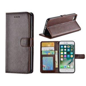 iPhone 8 Bookcase | iPhone 7 Hoesje Bruin