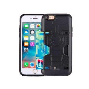 Armor iPhone 6/6S Hoesje Schokbestendig Pashouder