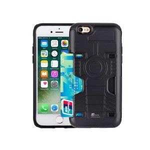 Armor iPhone 7 Hoesje Schokbestendig Pashouder