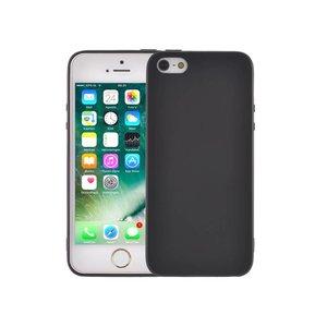 Ultradun iPhone SE/5S/5 Hoesje Siliconen Mat Zwart