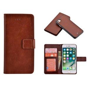 Uitneembaar 2 in 1 iPhone 8 /7 Bookcase Hoes Bruin