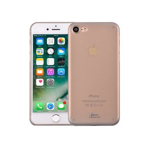 iPhone 7 Hardcase Ultra Dun Premium Mat Zwart