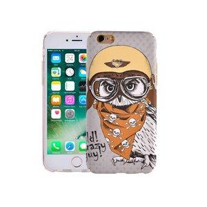 iPhone 6/6S Hoesje Vintage Look Uil