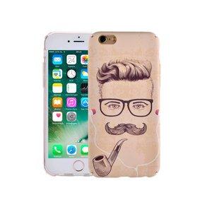 iPhone 6/6S Hoesje Vintage Look Man Met Snor