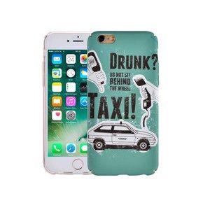 iPhone 7 Hoesje Vintage Look Taxi