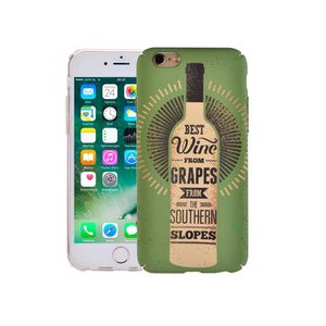 iPhone 8/7 Hoesje Vintage Look Wijnfles