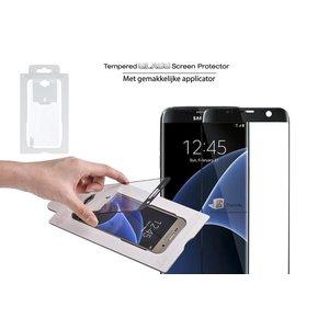 Samsung Galaxy S7 Screenprotector Glas Zwart