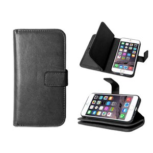 iPhone 6/6S Bookcase Hoesje Clutch Zwart