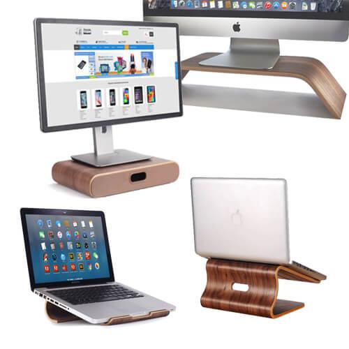 Houten Accessoires Monitor Standaard