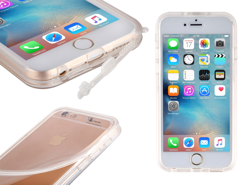 Waterwerend iPhone 6/6S Hoesje Transparant