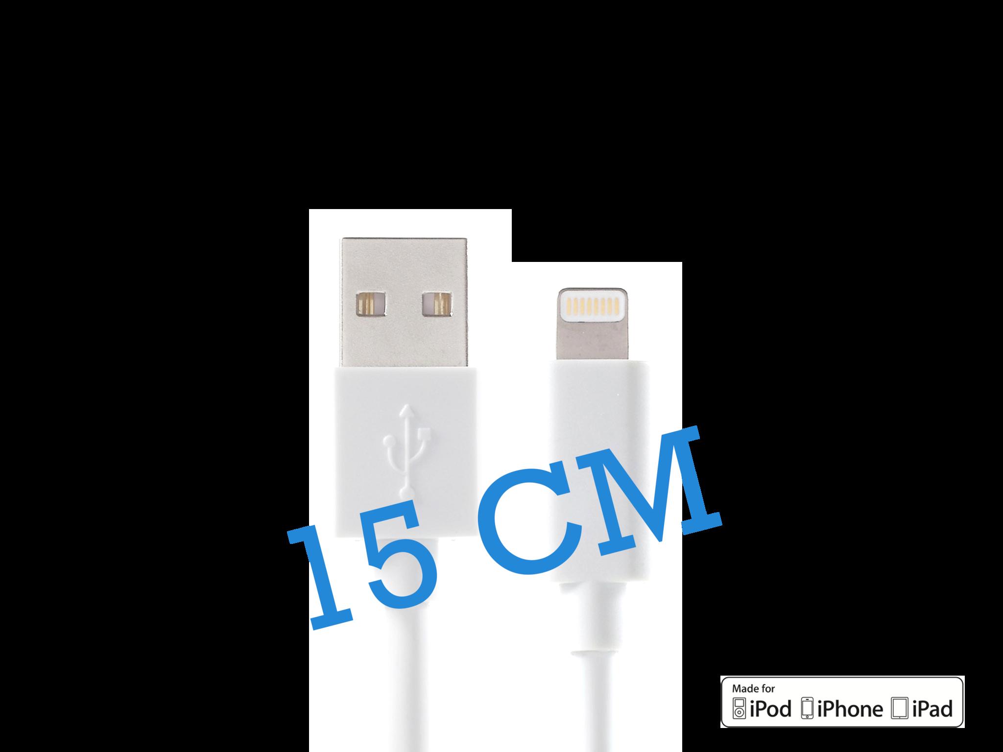 iPhone kabel 15 cm