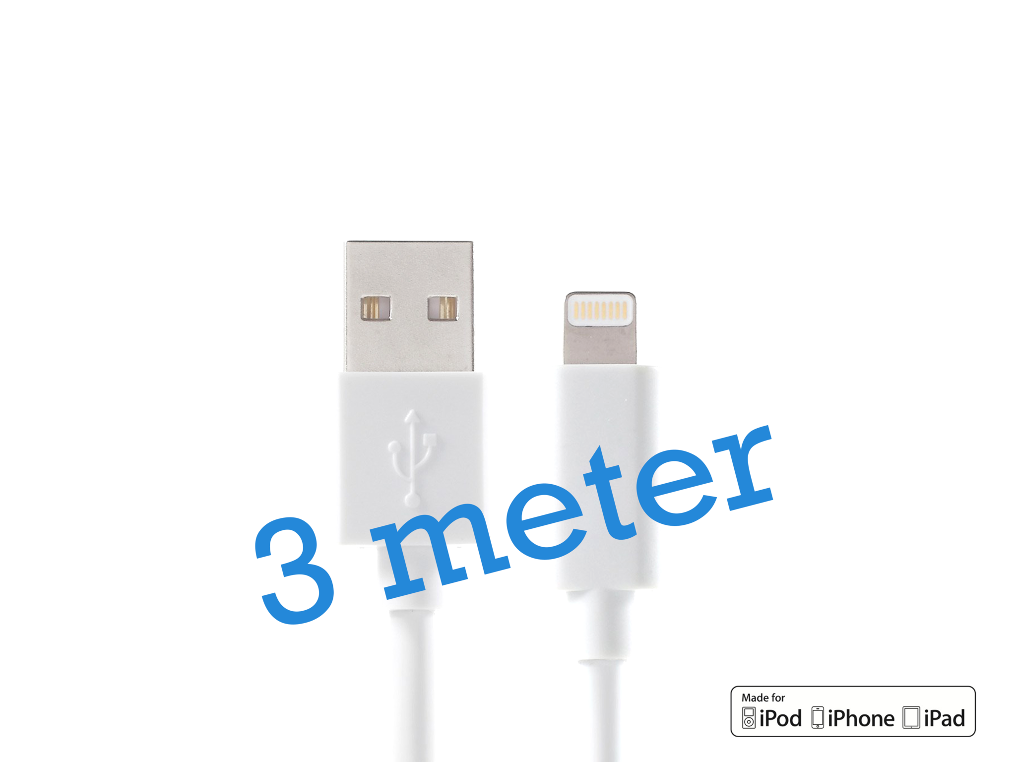 iPhone kabel 3 meter